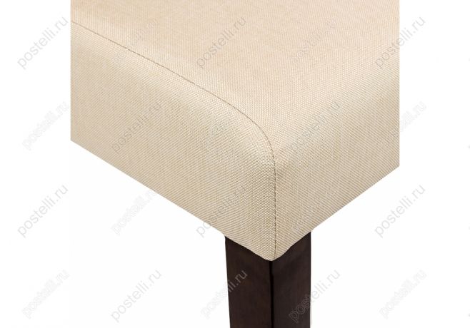 Стул Menson dark walnut/fabric cream (Арт. 11023)